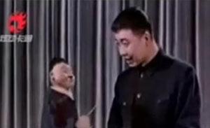 马季主演 《画像》 中国第一部相声粘土动画