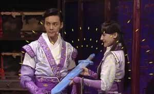 陈伟霆 肖旭 迪丽热巴等 小品《古剑奇谭》